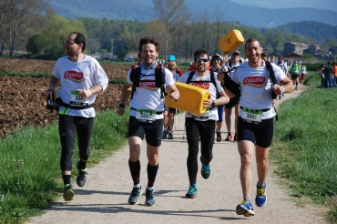 Espuña takes part in the Intermon Oxfam Trailwalker in Girona