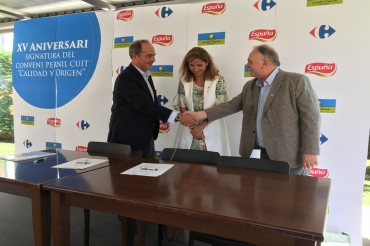 Carrefour renews its agreement with Espuña on its 15th anniversary